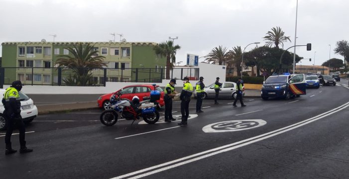 Cuatro meses de cárcel para el que se saltó el control en la carretera general de El Rosario
