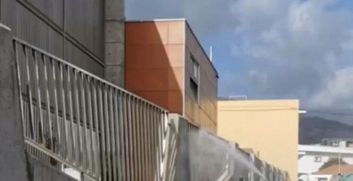 Más de 300 ancianos y dependientes, blindados en las residencias de La Palma