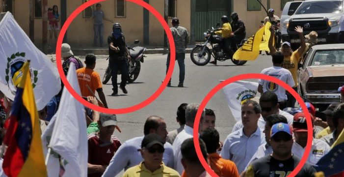 "Guaidó denuncia un ""intento de magnicidio"" tras sufrir un ataque"
