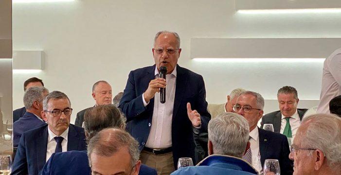 Curbelo propone que Canarias lidere la construcción de Fonsalía