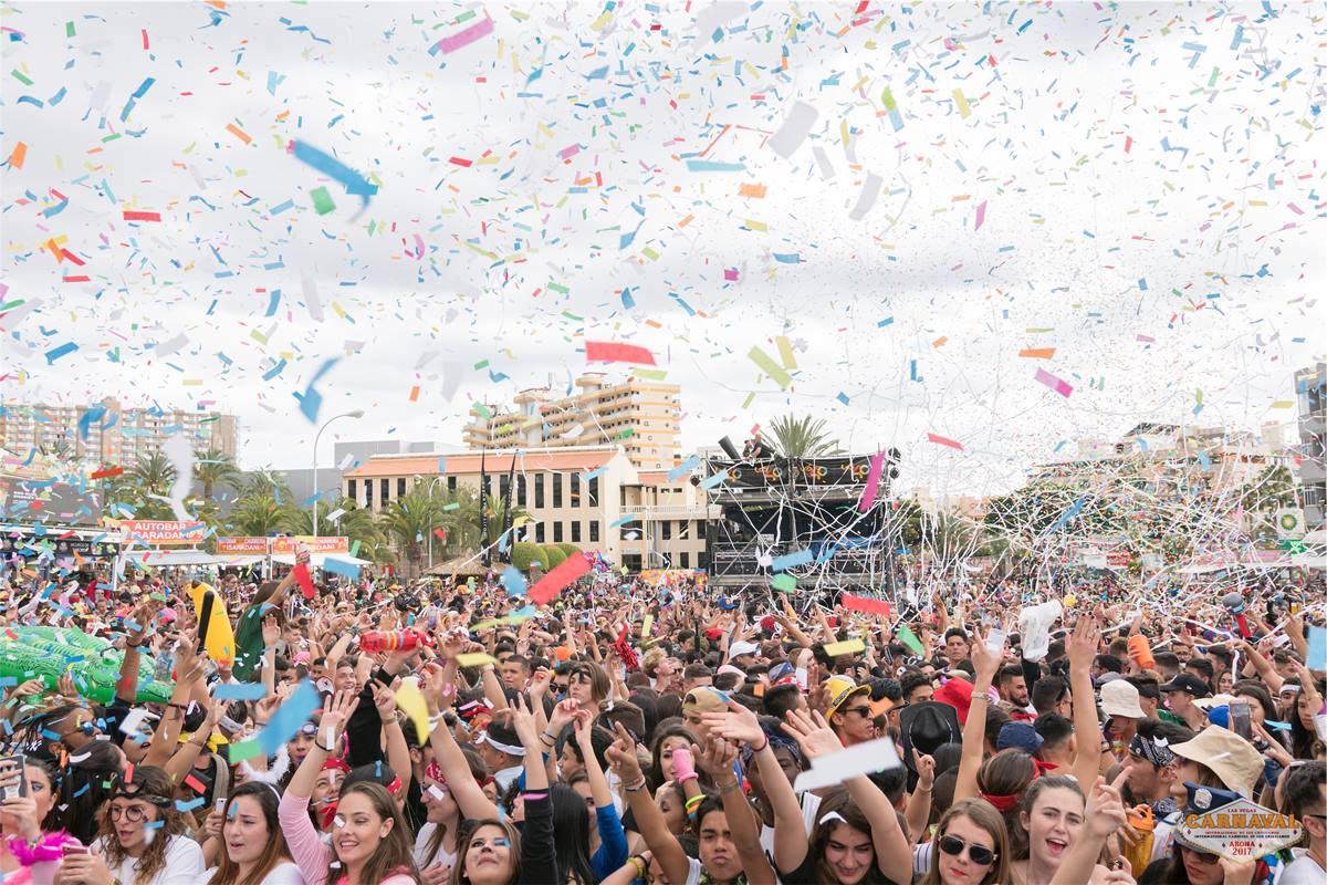 Los Cristianos, Candelaria y Granadilla, sin Carnaval. DA