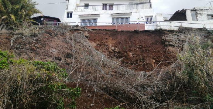El Ayuntamiento inicia la obra para consolidar el talud en El Inciensal