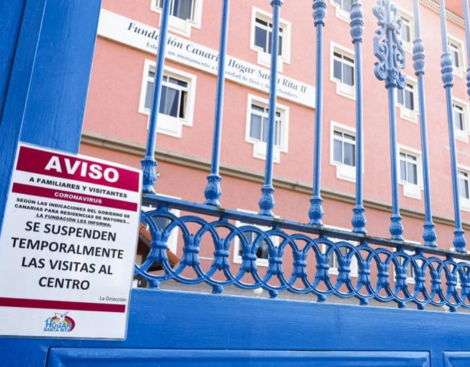 La dirección del Hogar Santa Rita afirma que la situación está controlada