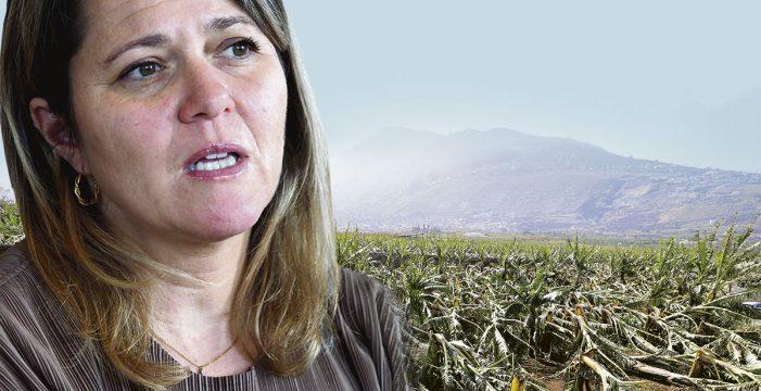 """Alicia Vanoostende, consejera de Agricultura: """"Europa ha ido dando la espalda al campo a favor de acuerdos comerciales con terceros países"""""""