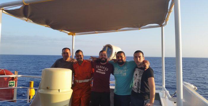 Confinado en el mar