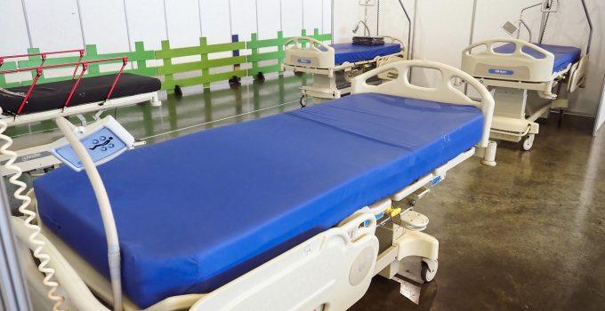 Finaliza el montaje del hospital de campaña del Recinto Ferial
