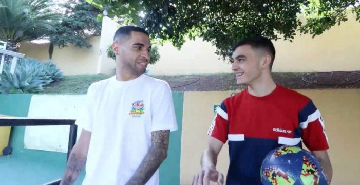 Tegueste, cuna de dos grandes futbolistas, Omar Mascarell y Pedri González