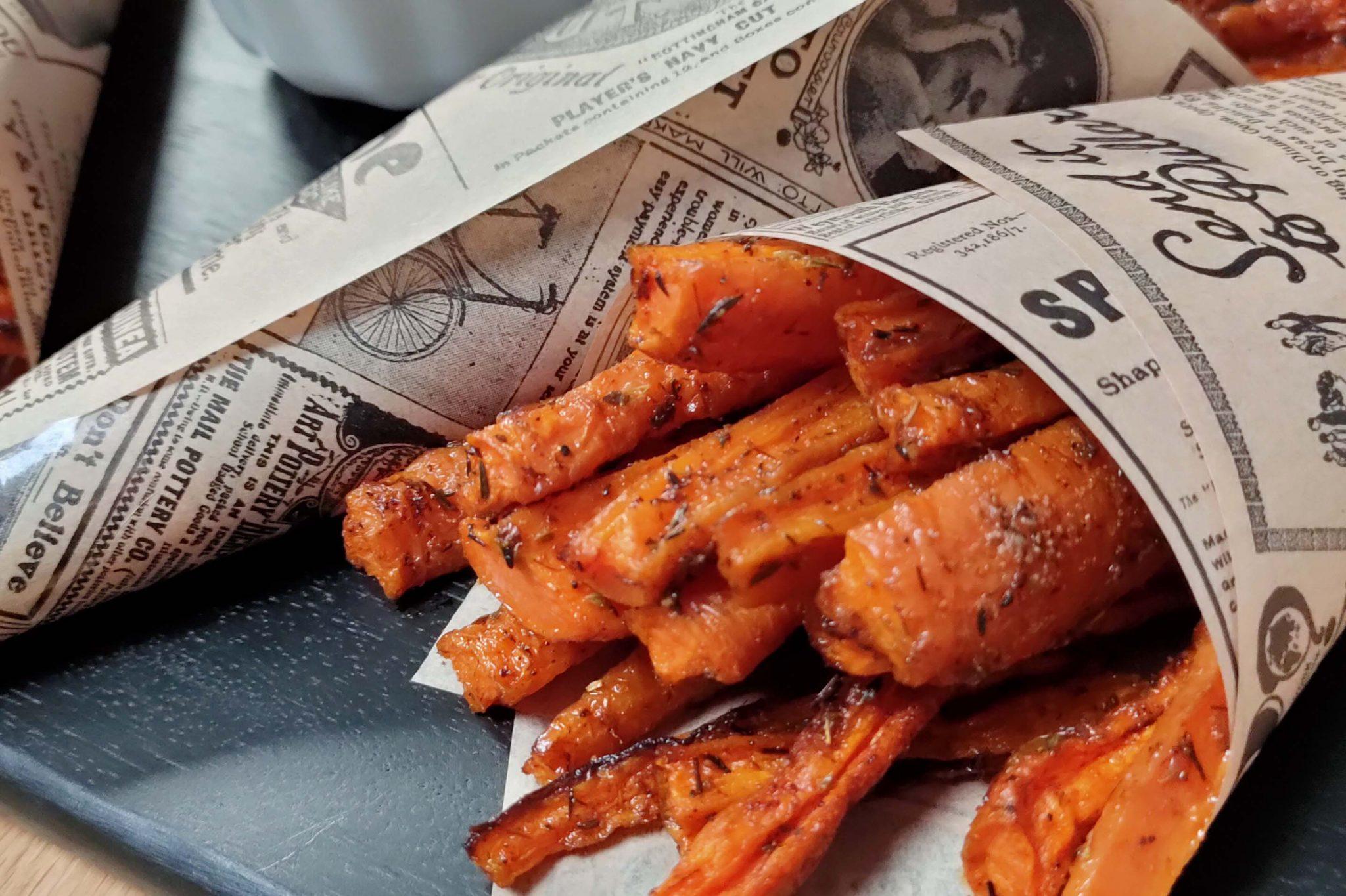 zanahorias deluxe con tofunesa