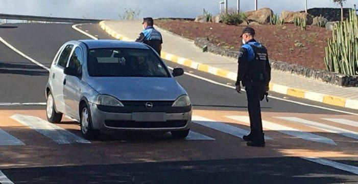 Detenido un joven en Candelaria por saltarse, hasta en nueve ocasiones, el estado de alarma