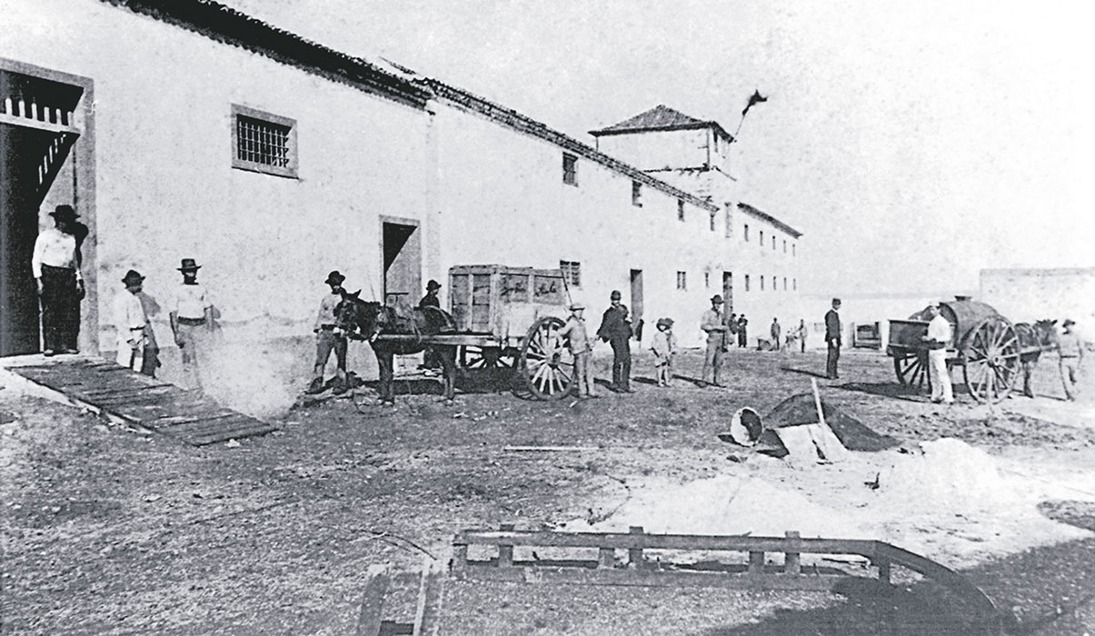 El lazareto de Santa Cruz de Tenerife, en una foto fechada en 1898.