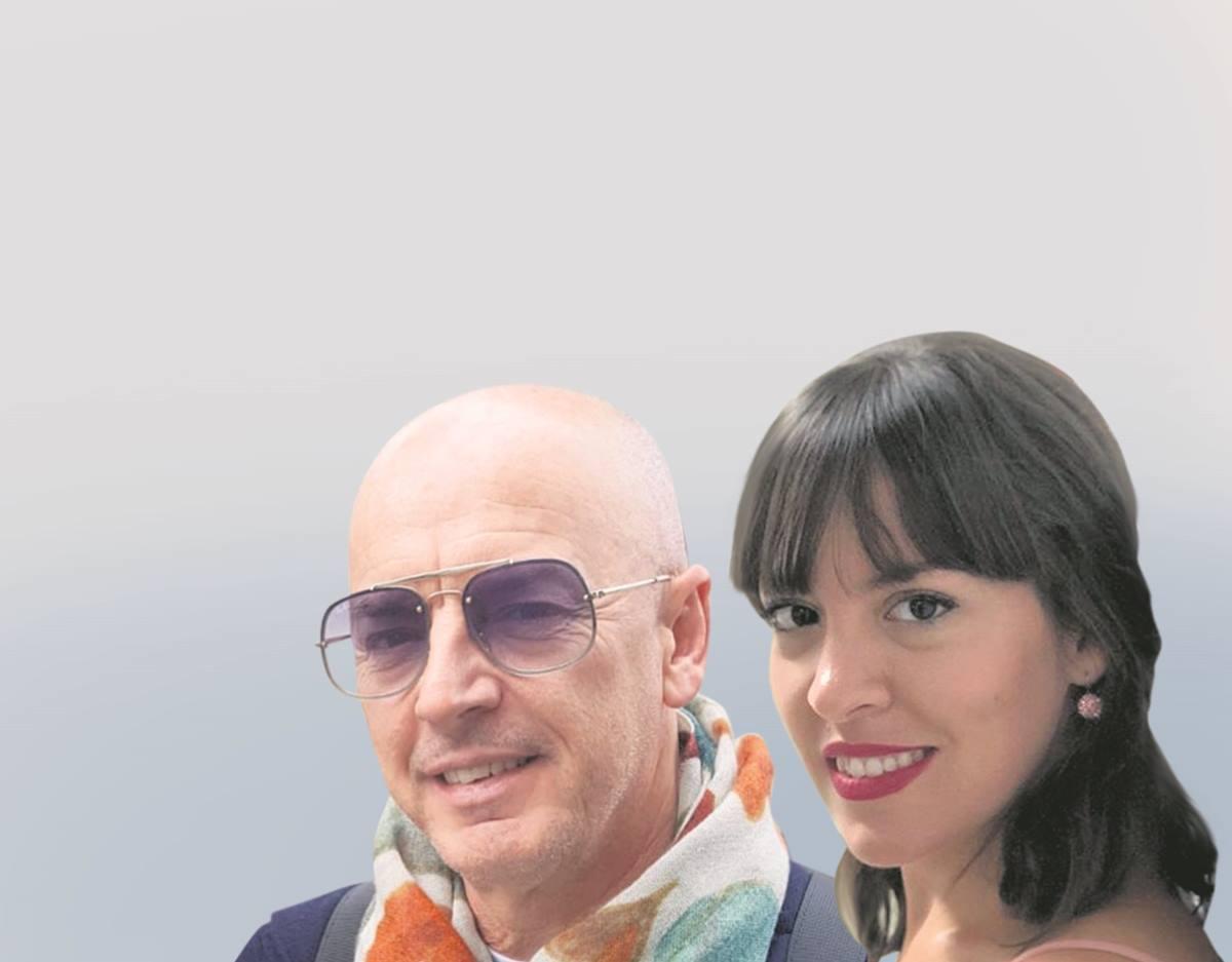 Javier García y Almudena López. DA