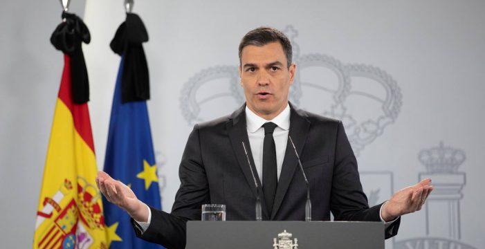 Sánchez aborda la última prórroga del estado de alarma con Ciudadanos y Bildu