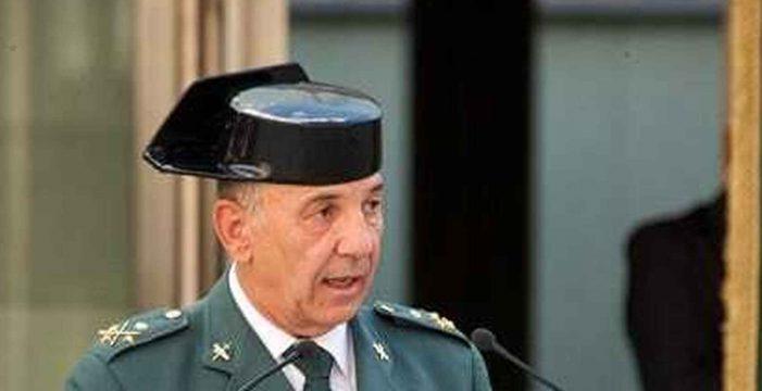 El número tres de la Guardia Civil también deja el cargo tras el cese de De los Cobos