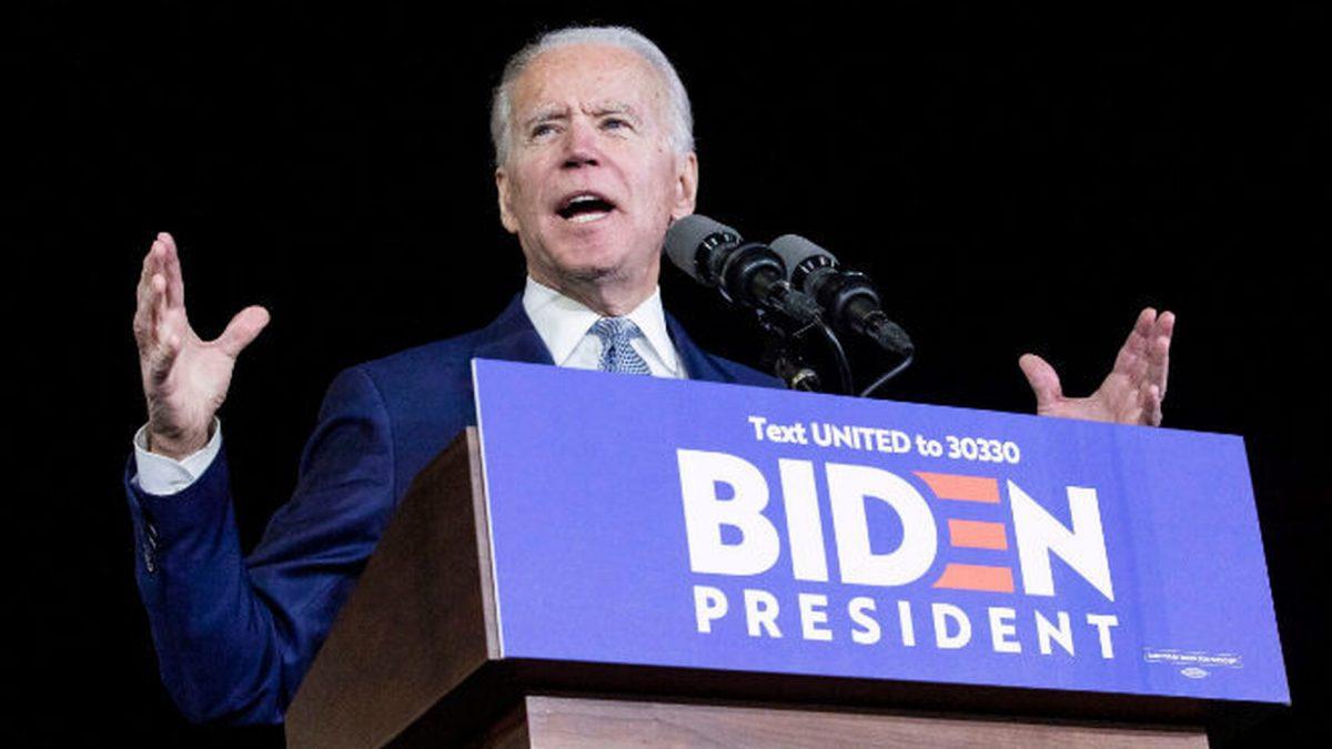 Joe Biden. EE