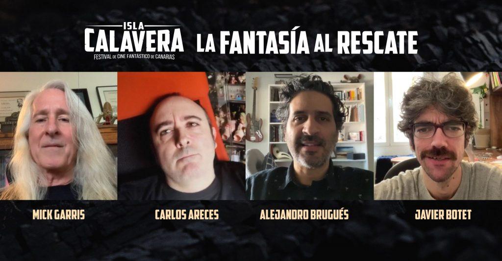 Ya se han sumado a la propuesta La Fantasía al rescate: Mick Garris, Carlos Areces, Alejandro Brugués y Javier Botet.