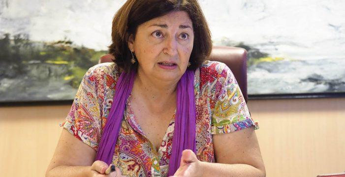 María José Guerra dimite como consejera de Educación del Gobierno de Canarias