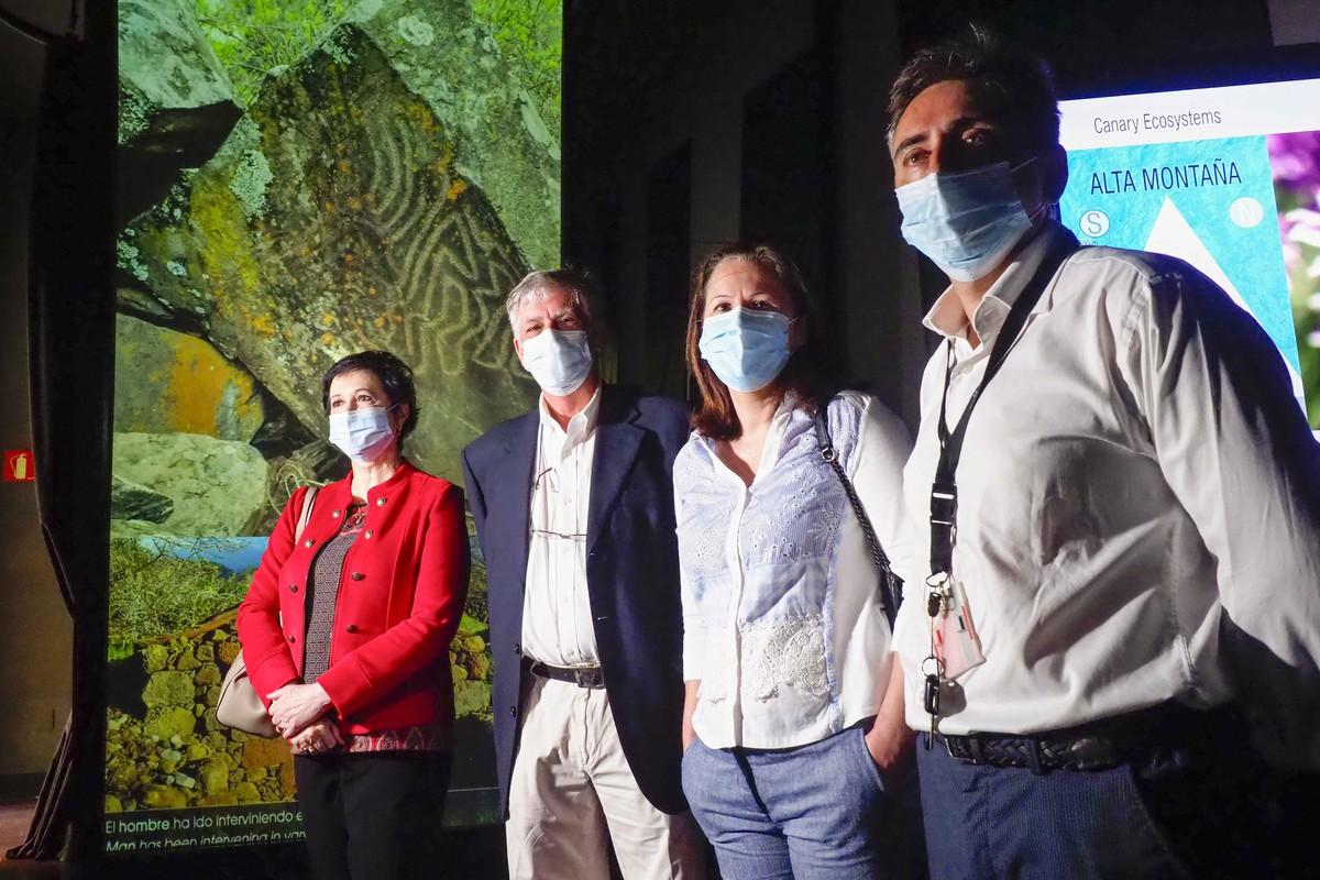 Reapertura del Museo de Naturaleza y Arqueología. FOTO: Sergio Méndez
