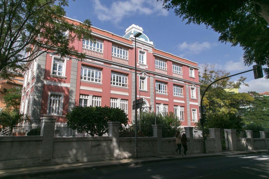 Sede de la Consejería de Sanidad del Gobierno de Canarias en Santa Cruz de Tenerife EP