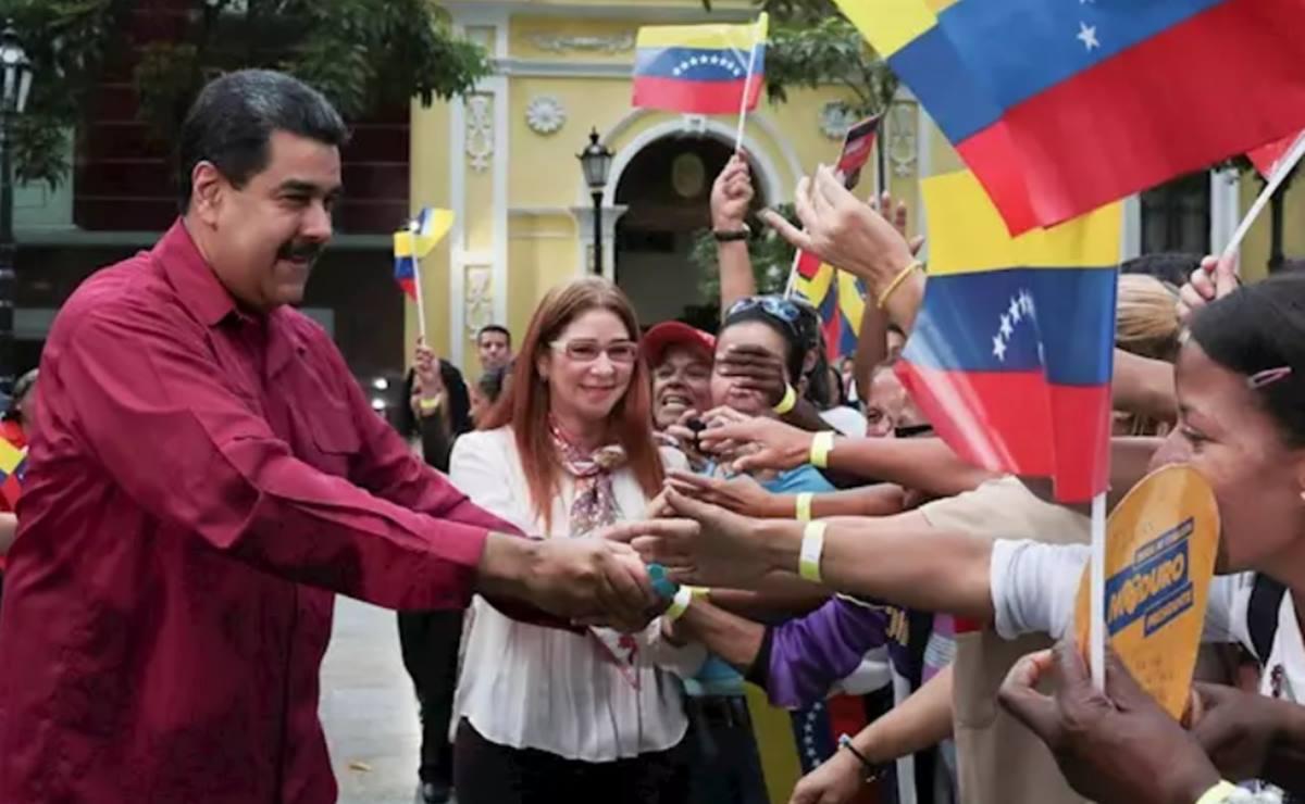 Nicolás Maduro y Cilia Flores. EP