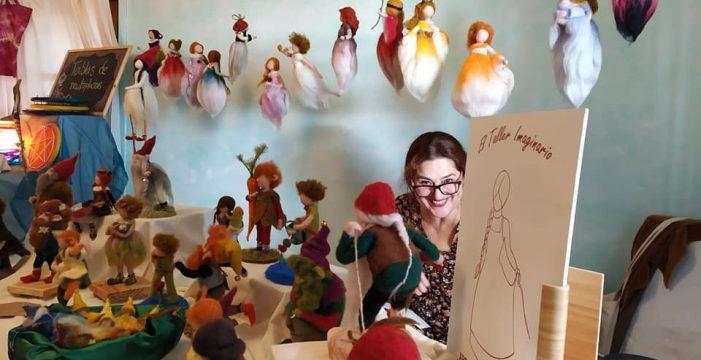 Nena Arias, la artesana de la lana en El Escobonal