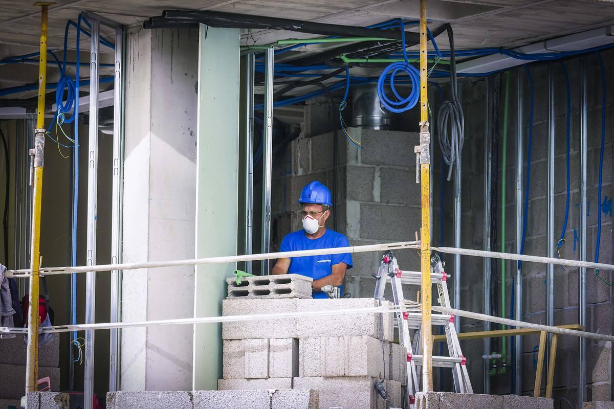 El sector de la construcción es primordial para la recuperación económica. Sergio Méndez