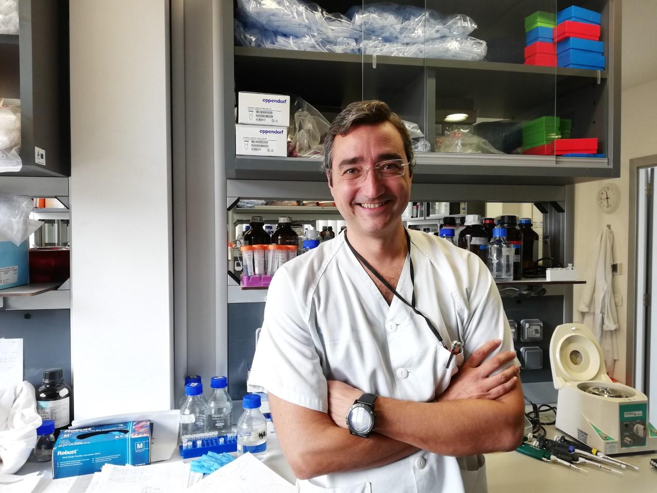 Fernando Gutiérrez, jefe de la unidad de investigación del HUC. FOTO: DA