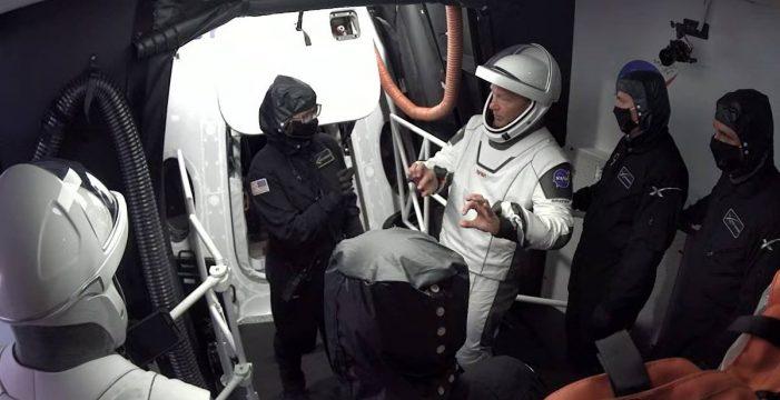 Cancelado el lanzamiento de la nave Crew Dragon debido al mal tiempo