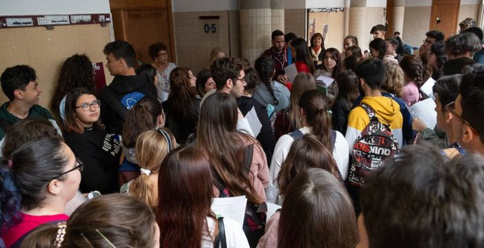 Adeje será la sede de los exámenes de la EBAU de los alumnos del Sur