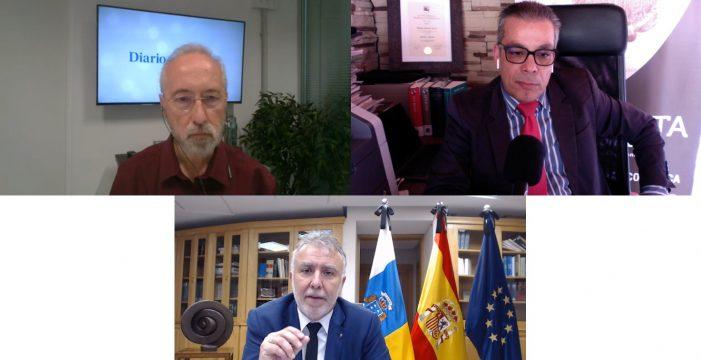 """Torres, en Punto de Encuentro del DIARIO: """"Aspiro a que haya altura de miras y todos se sumen al Pacto por Canarias"""""""