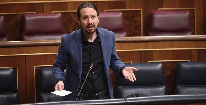 """Iglesias acusa al PP de llamar """"a la insubordinación"""" de la Guardia Civil"""