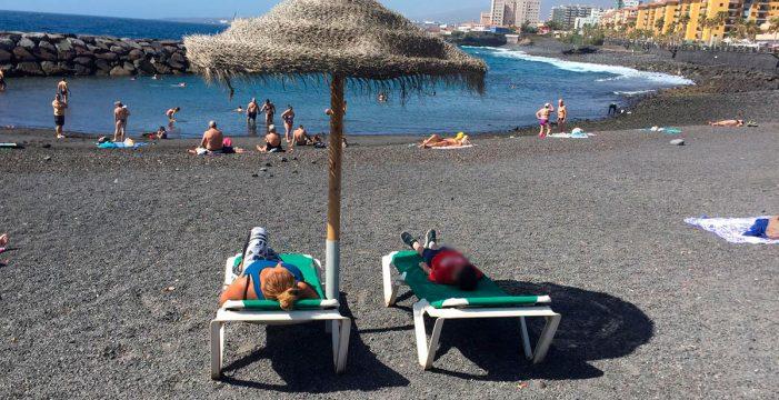 Reabren al baño las playas de Punta Larga en Candelaria