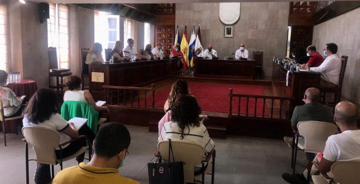 El pleno de Granadilla aprueba una moción institucional para la reactivación económica