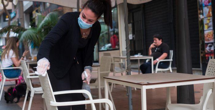 Santa Cruz aclara que las terrazas sí podrán poner más mesas