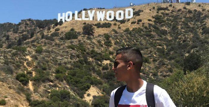 """El tinerfeño Daniel Frías, nueva promesa del cine: """"Sueño con ir a Hollywood y hacer una película con Will Smith"""""""