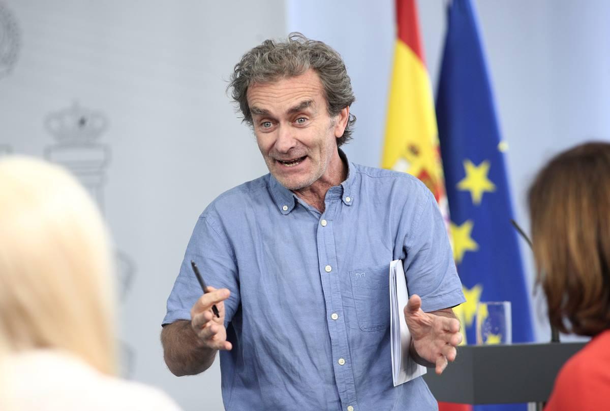 El director del Centro de Coordinación de Alertas y Emergencias Sanitarias, Fernando Simón. EP