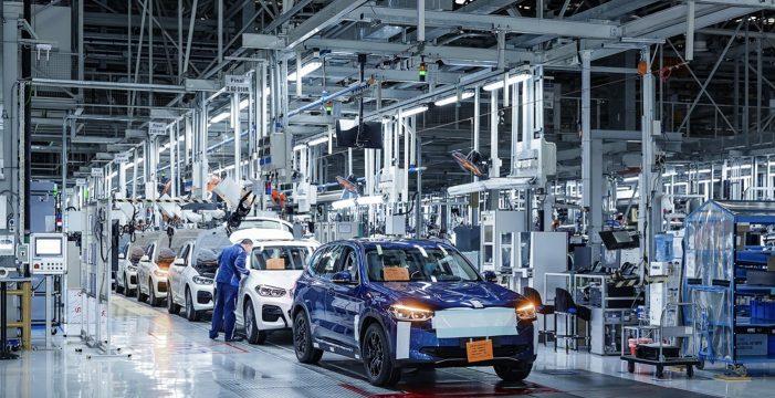 Finalizan los preparativos para el inicio de producción del nuevo BMW iX3