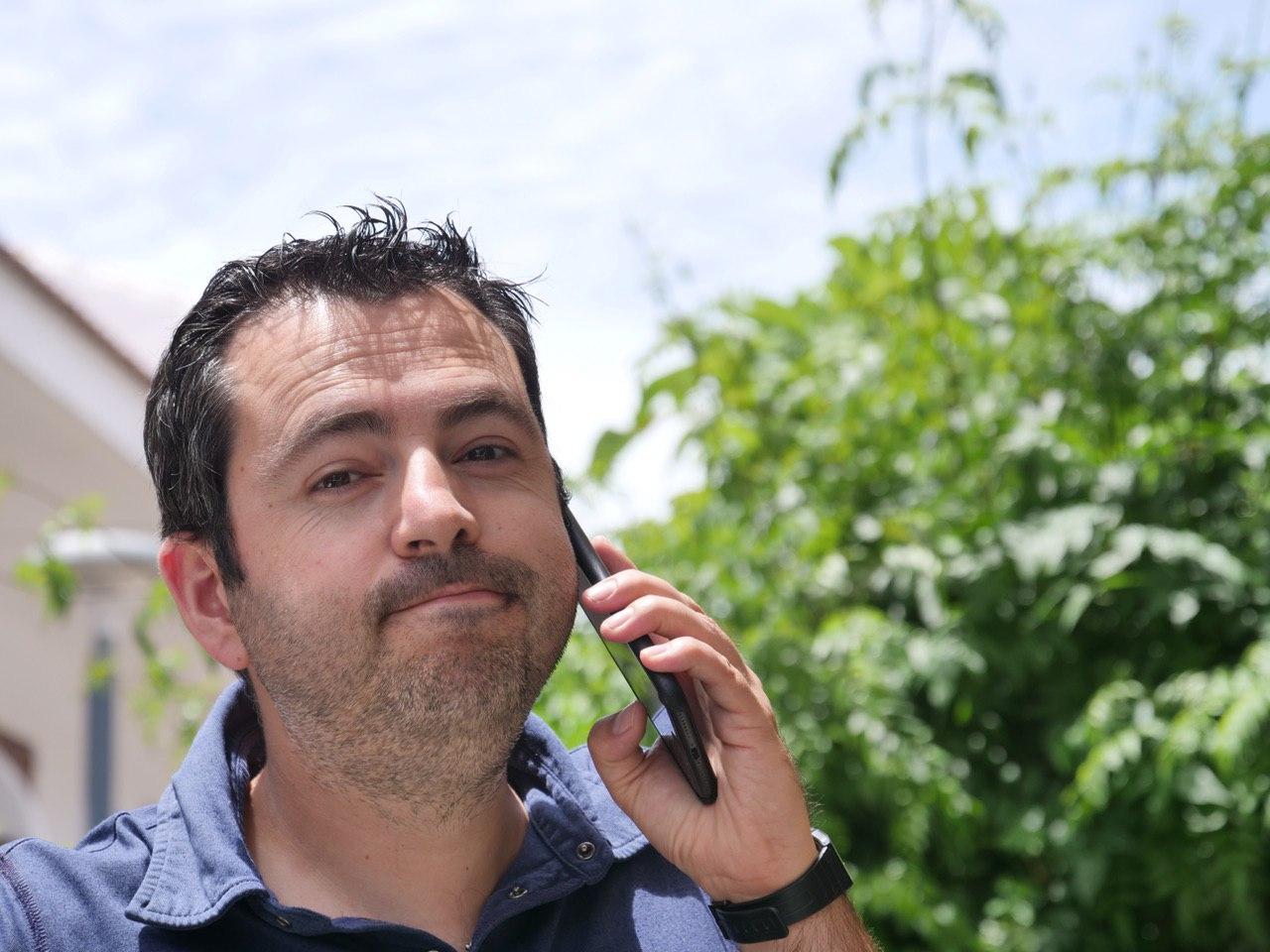 Darío López, de Palante Producciones. / DA