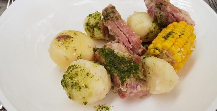 Sal y pimienta: Gastronomía típica en las fiestas de La Orotava