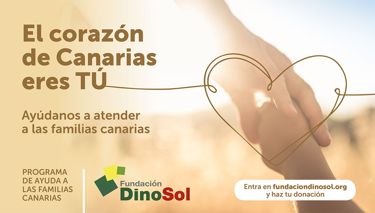 Fundación DinoSol pone en marcha un programa de ayuda  para familias en riesgo de exclusión social