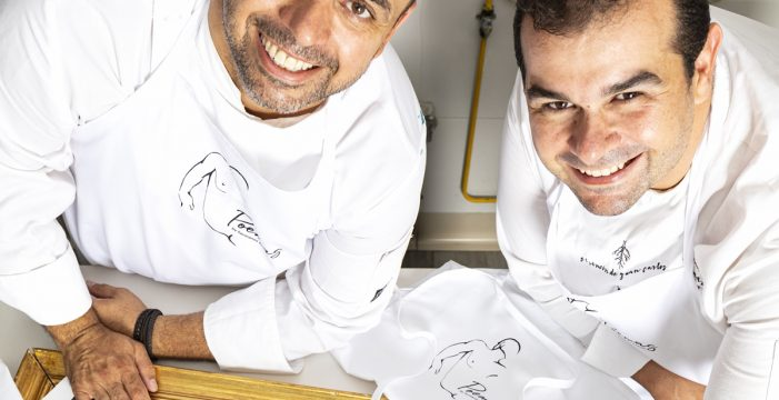 Juan Carlos Padrón aporta dos recetas al libro La cocina del mar