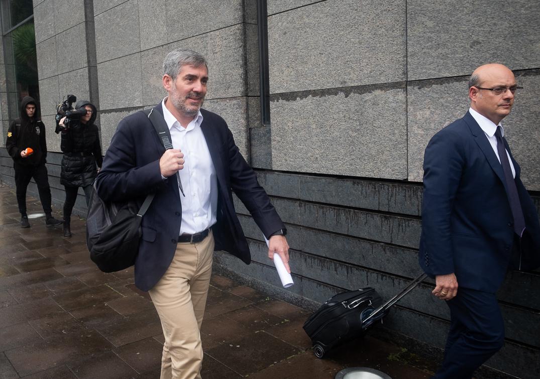 Fernando Clavijo. Fran Pallero