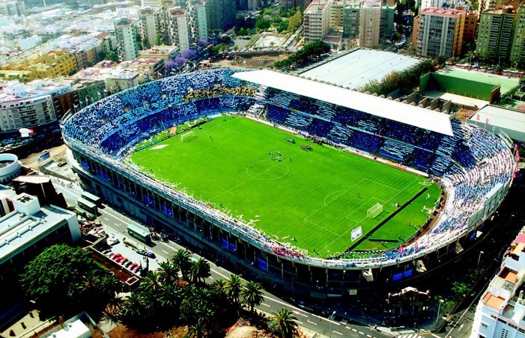 Habrá que esperar unos meses para ver un lleno hasta la bandera en el estadio Heliodoro Rodríguez López. /Twitter