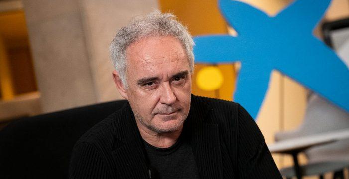 """Ferran Adrià: """"El mayor impacto para la restauración en esta crisis será el teletrabajo"""""""