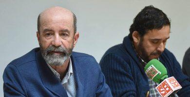 Santiago Pérez y Rubens Ascanio, en una intervención ante los medios. DA