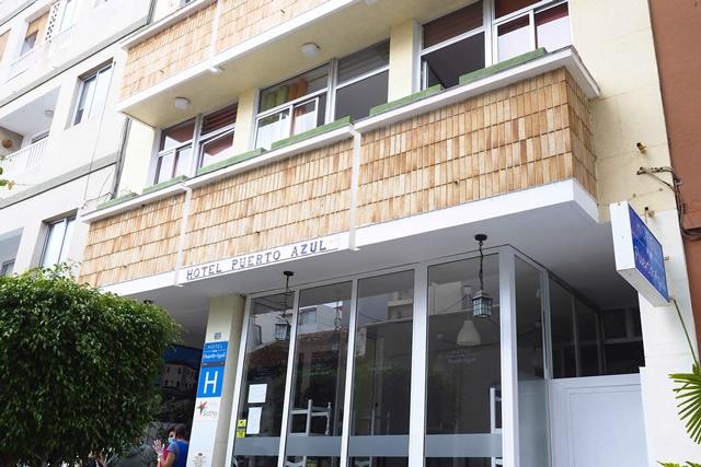 El hotel Puerto Azul ofreció sus instalaciones para las personas sin hogar durante el estado de alarma. S.Méndez