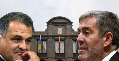 Fernando Clavijo y José Alberto Díaz. DA