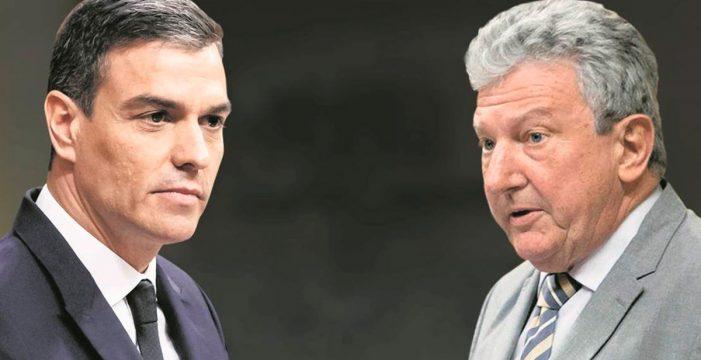 Sánchez garantiza a Quevedo la 'reconstrucción' de Canarias
