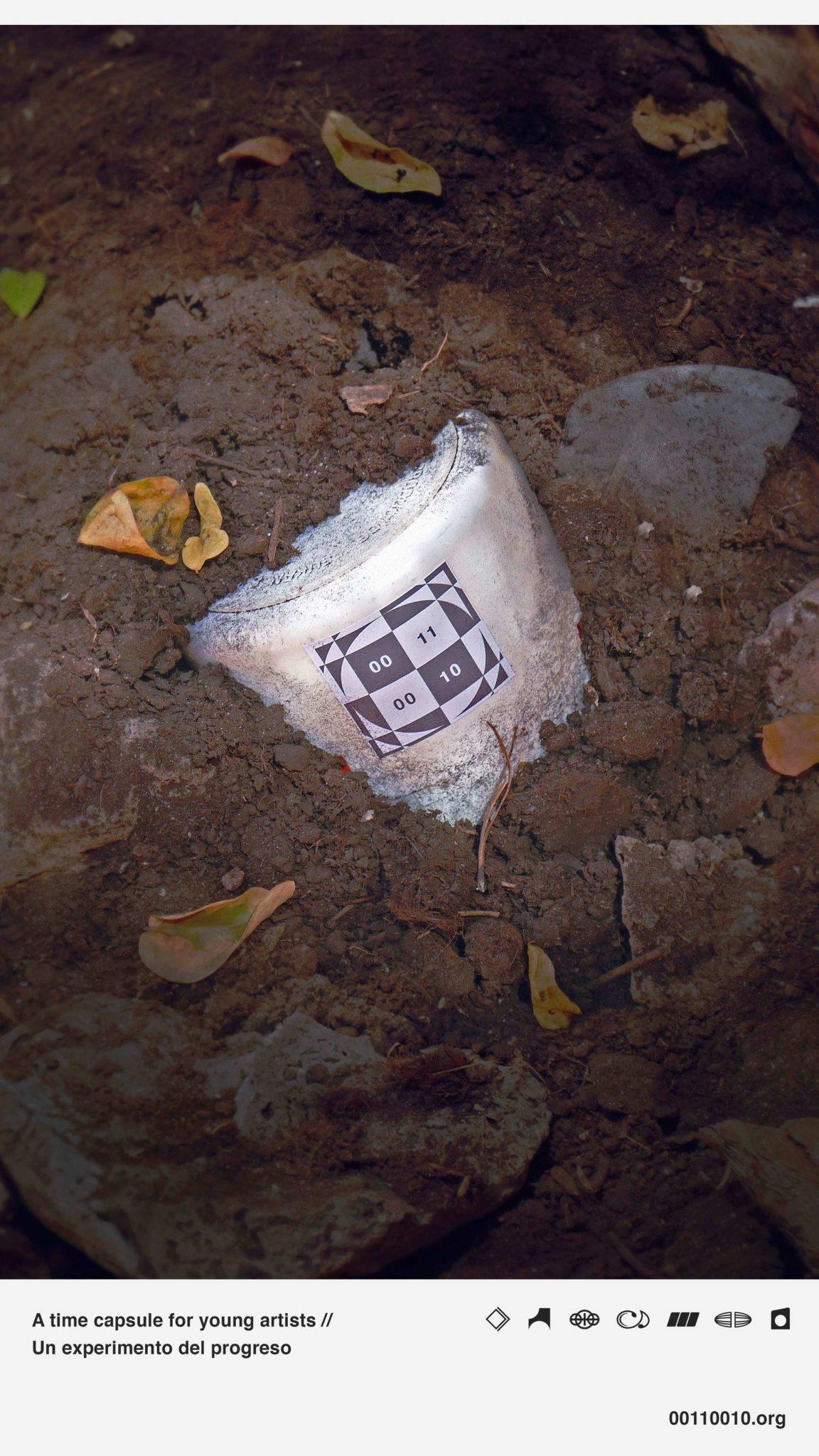Una imagen que alude a la cápsula que se enterrará el 2 de agosto. DA