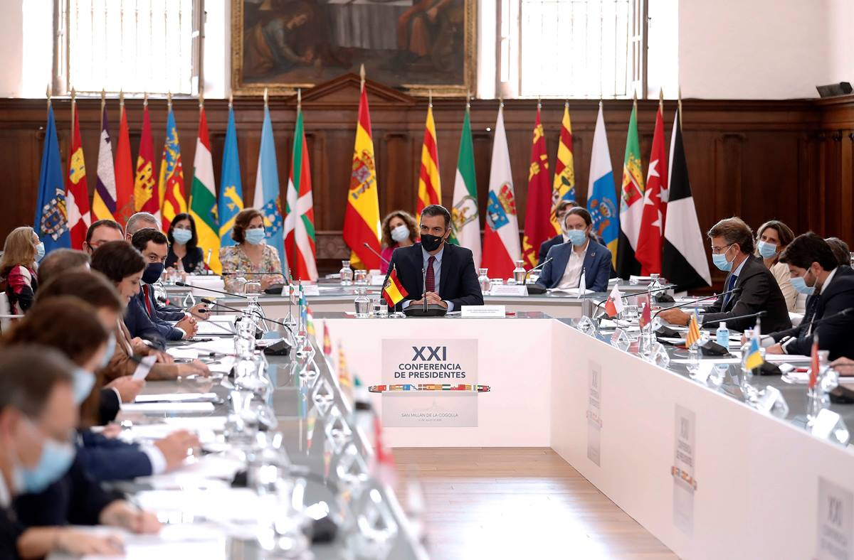 Conferencia de Presidentes con Pedro Sánchez a la cabeza. EP