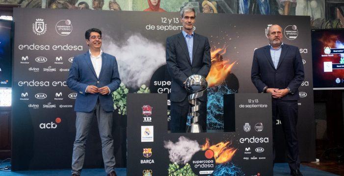 Tenerife, capital del baloncesto en septiembre con la Supercopa Endesa